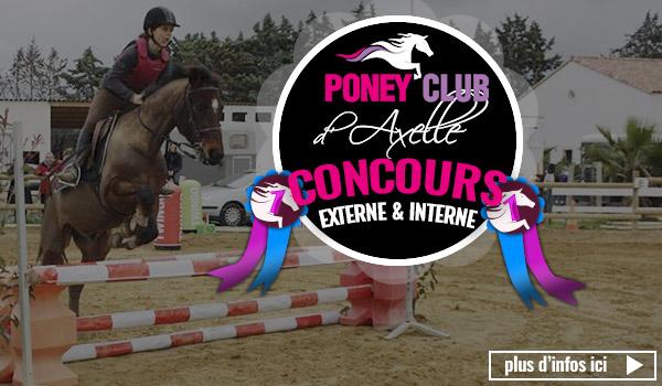 concours au poney club d'axelle
